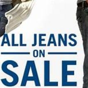 Other - Jeans Sale.  All Jeans half off.